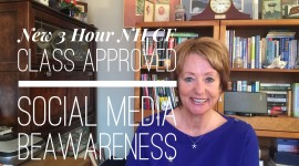 Social Media BeAwareness Approved for 3 NH and Maine CE Credits